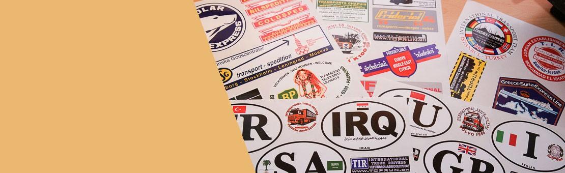 Stickers replica