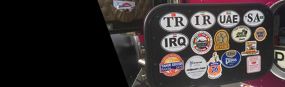 Old Skool Style Truckin' Stickers